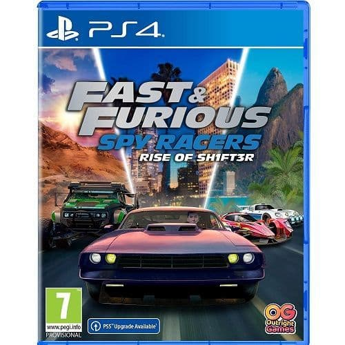 Fast and Furious Spy Racers Rise of SH1FT3R PS4 Game
